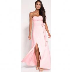 Sukienka Na Wesele Długa Z Rozcięciem Sukienki Damskie Kolekcja