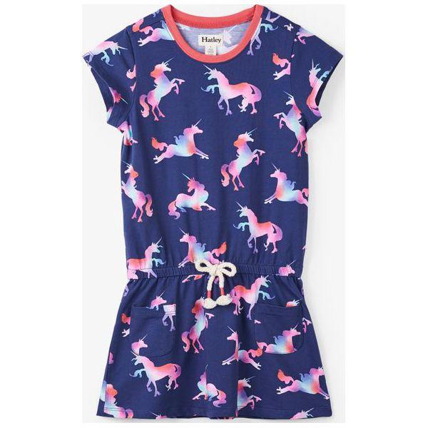 1f2ed63951 Hatley Sukienka Dziewczęca 134 140 Niebieski - Sukienki dziewczęce ...