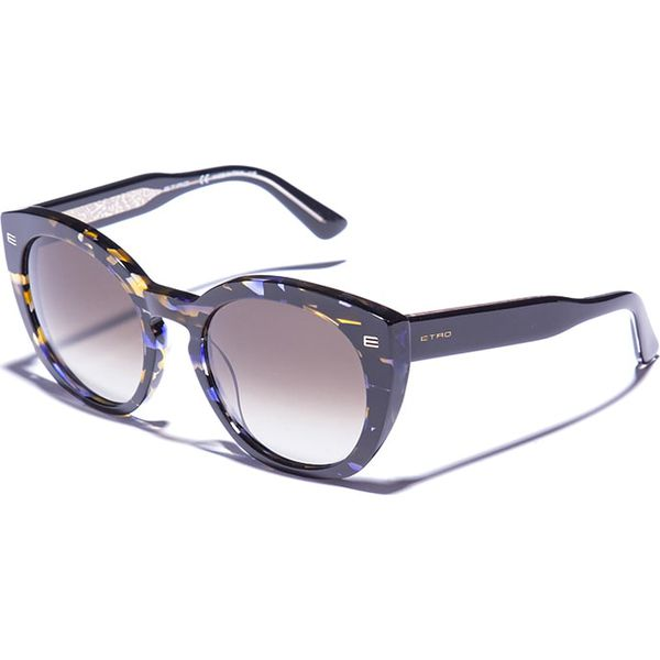 36ddd23fffd336 Okulary damskie w kolorze czarno-niebiesko-zielonym - Czarne okulary ...