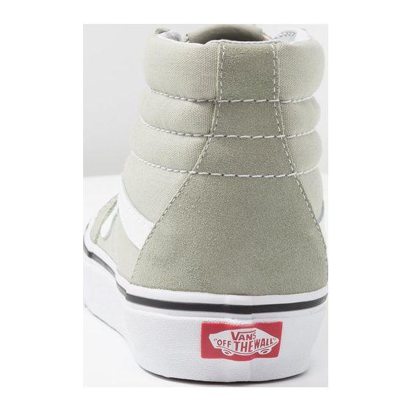 e6ae3eba43 Vans SK8HI Sneakersy wysokie desert sage true white - Obuwie ...