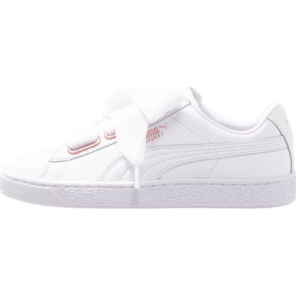 fb57c918 Puma BASKET HEART Sneakersy niskie white/rose gold - Obuwie sportowe ...