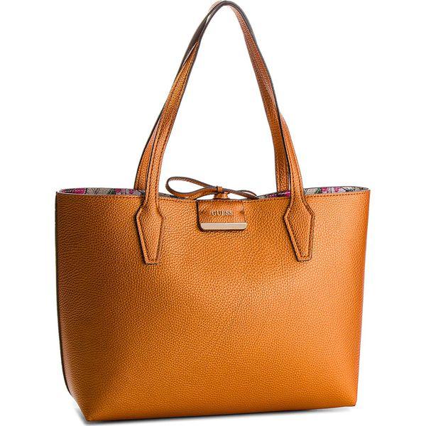 64807d1a0be73 Wyprzedaż - shopper bag marki Guess - Kolekcja wiosna 2019 - Butik - Modne  ubrania