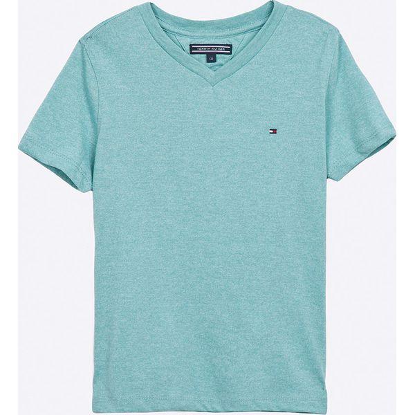 8e8f7034a4c5b Tommy Hilfiger - T-shirt dziecięcy 122-176 cm - Szare t-shirty i ...