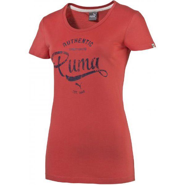354f1afd05 Puma Koszulka Damskastyle Personal Best Athl T Cayenne S - Różowe ...