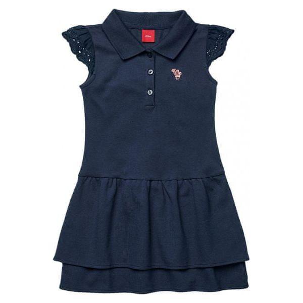5e889c2b9c S.Oliver Sukienka Dziewczęca 110 Niebieska - Niebieskie sukienki ...
