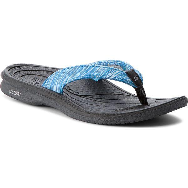 sekcja specjalna sprzedaż obuwia niezawodna jakość Japonki NEW BALANCE - W6073BKB Niebieski