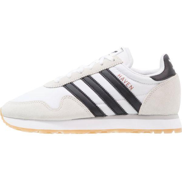 super popular d7836 0dd7c adidas Originals HAVEN Tenisówki i Trampki footwear white core black ...