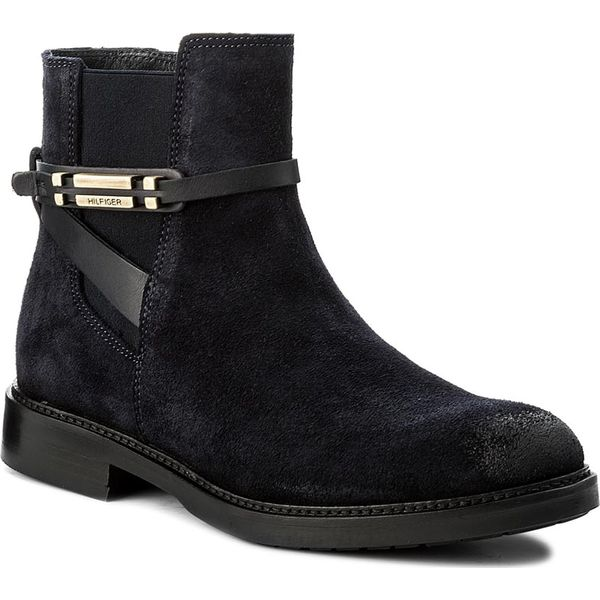 a011748fa4ad9 Botki TOMMY HILFIGER - Holly 15C FW0FW01252 Midnight 403 ...