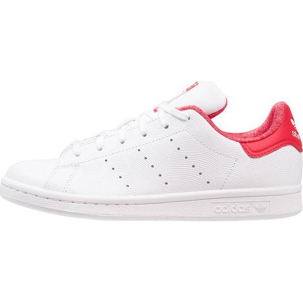 adidas Originals STAN SMITH Tenisówki i Trampki footwear whitescarlet