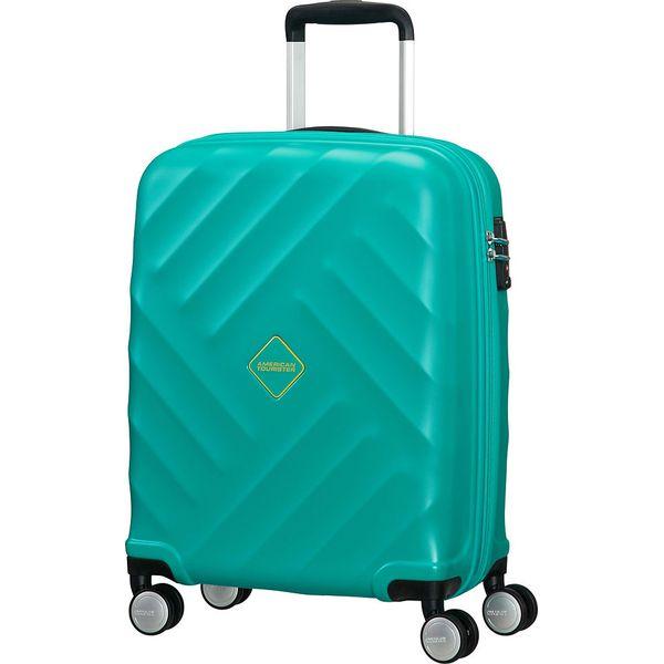 322216379398a Walizka w kolorze turkusowym - 40 x 55 x 20 cm - Niebieskie walizki marki  Samsonite, z materiału. W wyprzedaży za 347.95 zł. - Walizki - Torby i  plecaki ...