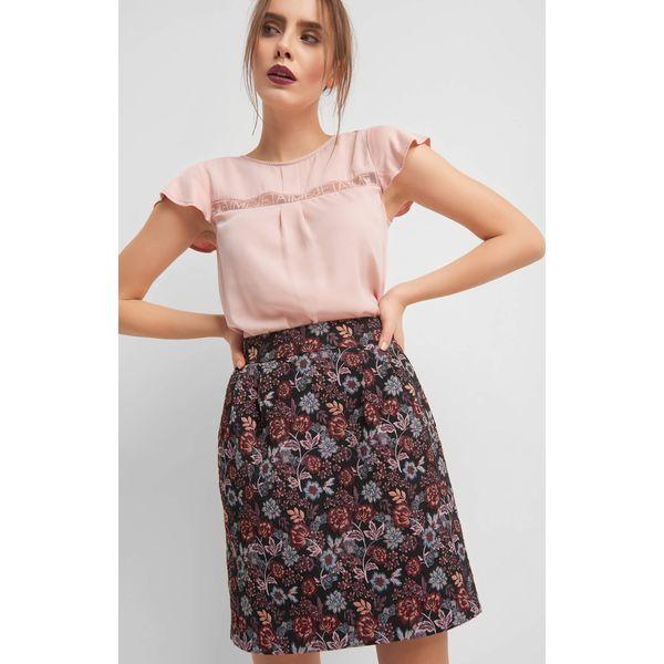 d29d4fb6 Spódnica mini w kwiaty