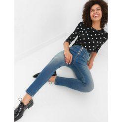 43aae896ae Jeansy skinny z wysokim stanem. Niebieskie rurki damskie marki Orsay