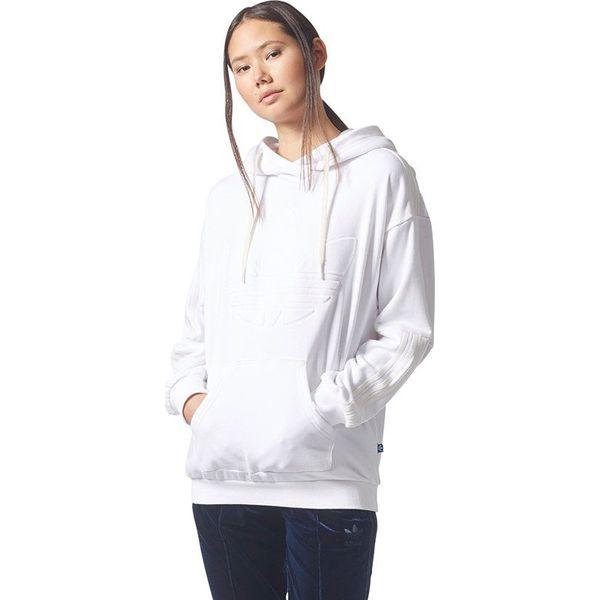 65a44f52a Adidas Bluza damska Flock Hoodie biała r. 42 (BQ8019) - Bluzy ...