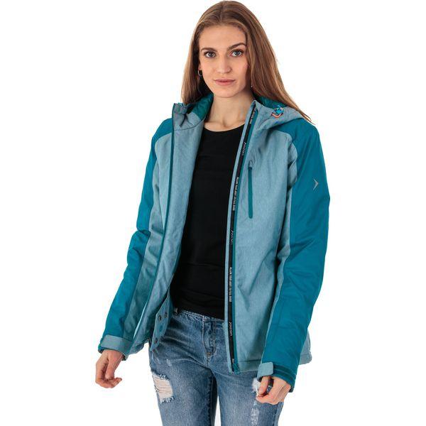e03506c3da689 Outhorn Kurtka narciarska damska HOZ18-KUDN601 turkusowy melanż r. M ...