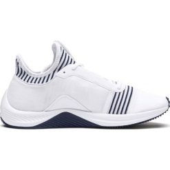 Białe obuwie sportowe treningowe na fitness i siłownię
