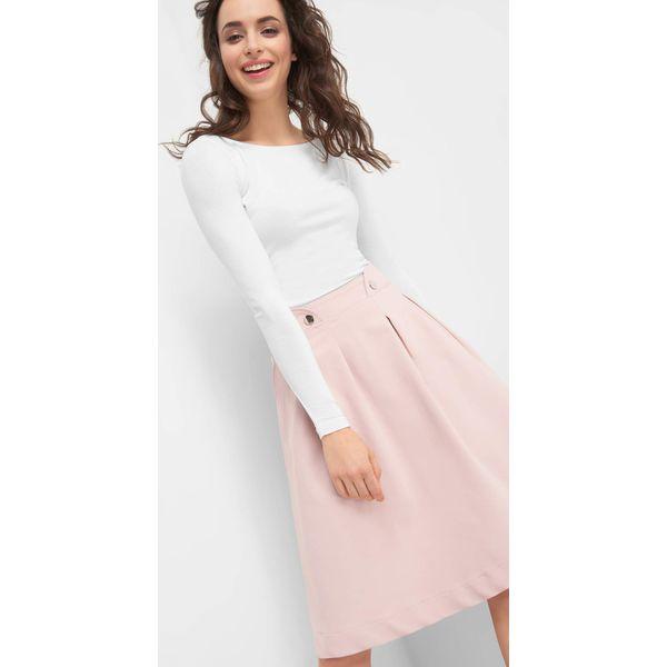 8aeeba7503 Rozkloszowana spódnica midi - Czerwone spódnice damskie marki Orsay ...