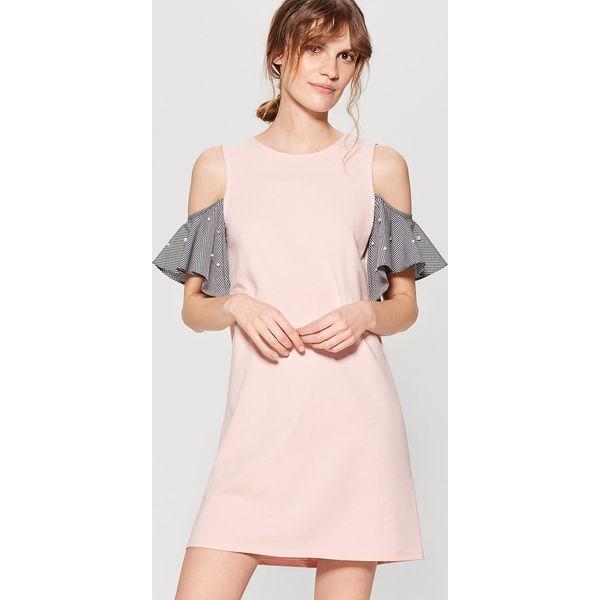 6d53a8709b Sukienka cold arms - Różowy - Czerwone sukienki damskie marki Mohito ...