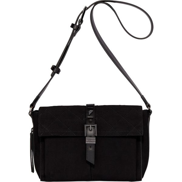 cbe2fca6e161a Fiorelli - Torebka Medium Satchel - Czarne torebki klasyczne damskie ...