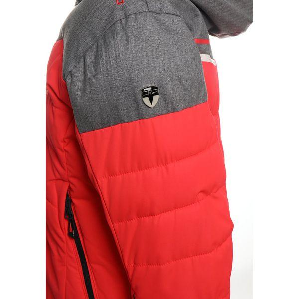 7a56c351df259 CMP SNAPS Kurtka snowboardowa red fluo - Brązowe kurtki dziewczęce ...