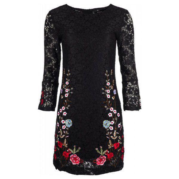 e87b6281 Desigual sukienka damska Vermond 34 czarna
