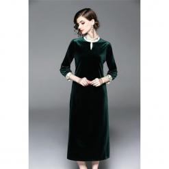 2c4b713c6d Sukienka w kolorze zielonym. Zielone sukienki damskie marki Zeraco. W  wyprzedaży za 339.95 zł