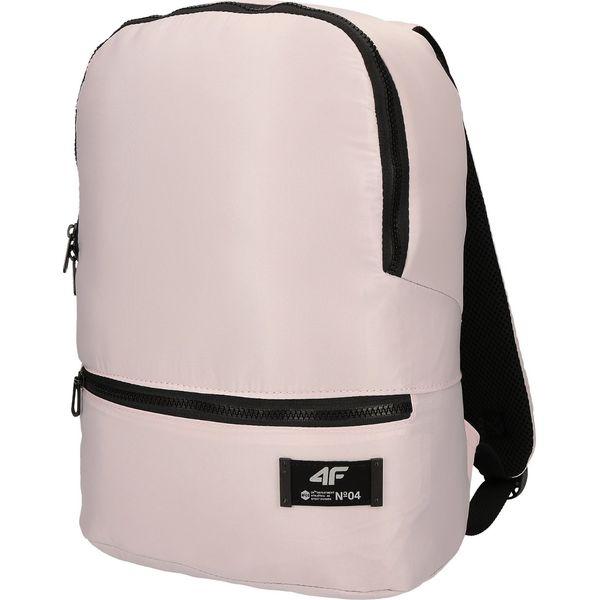 2247d9d2f82c9 Plecak miejski damski PCU244 - jasny róż - Czerwone plecaki marki 4F ...