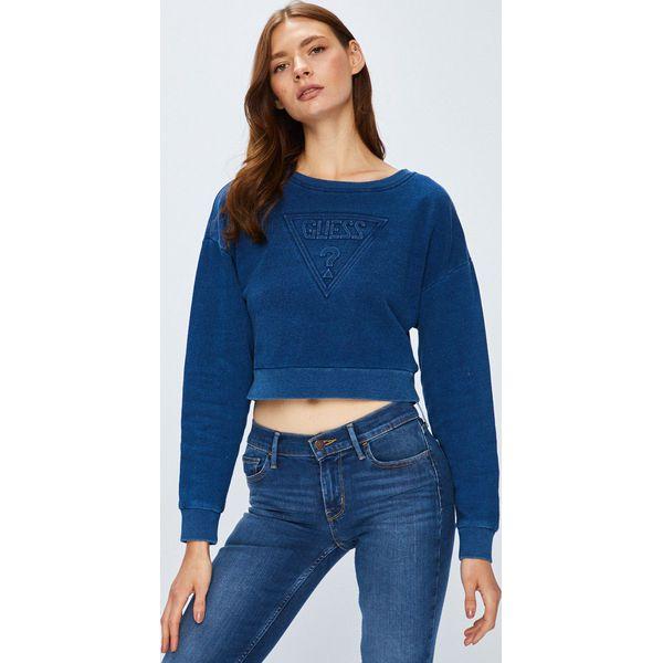 8c894f983d58d Guess Jeans - Bluza - Bluzy damskie marki Guess Jeans. W wyprzedaży ...