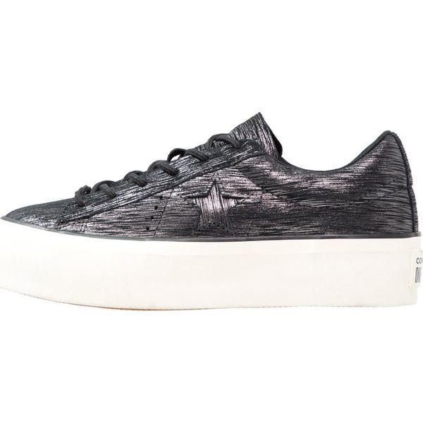 c4247b3caa33f Converse ONE STAR PLATFORM Sneakersy niskie black/gunmetal/egret ...