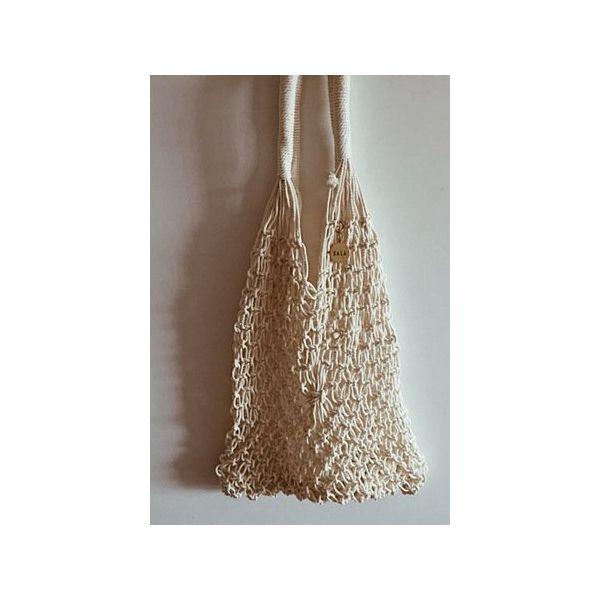 15bf935e940a6 Toreba Shopper BALA White Net Bag - Shopper bag marki Bala-lifestyle ...