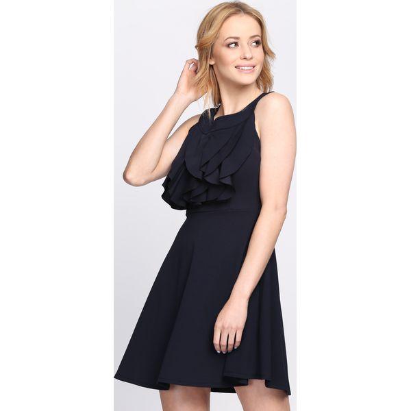 0327e24832 Granatowa Sukienka Good Shape - Niebieskie sukienki damskie marki ...