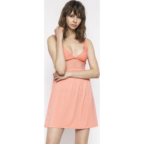 fa508e0b4afea7 Triumph - Koszulka Amourette Spotlight - Pomarańczowe koszule nocne ...