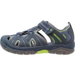 Merrell HYDRO HIKER Sandały trekkingowe navy green. Sandały chłopięce marki  Merrell. 005c4f977d
