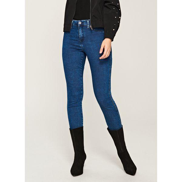 e1c9a9758ab1bd Jeansy SLIM FIT - Granatowy - Niebieskie jeansy damskie Reserved. Za ...