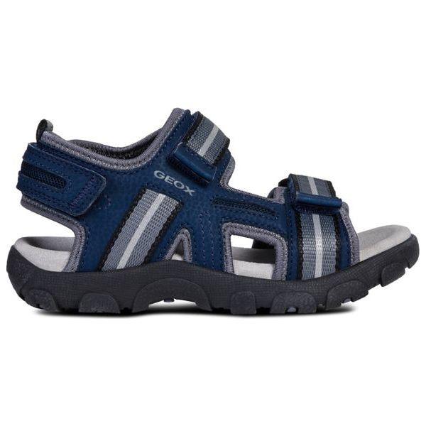 decf0ee11adbe Geox Sandały Chłopięce Strada 31 Niebieskie - Sandały chłopięce ...