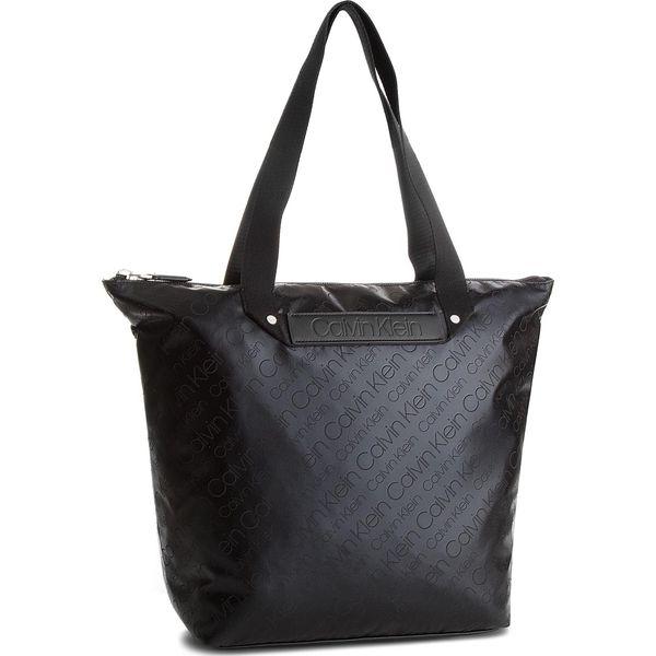 8725d27394 Wyprzedaż - shopper bag marki Calvin Klein - Kolekcja wiosna 2019 - Butik -  Modne ubrania