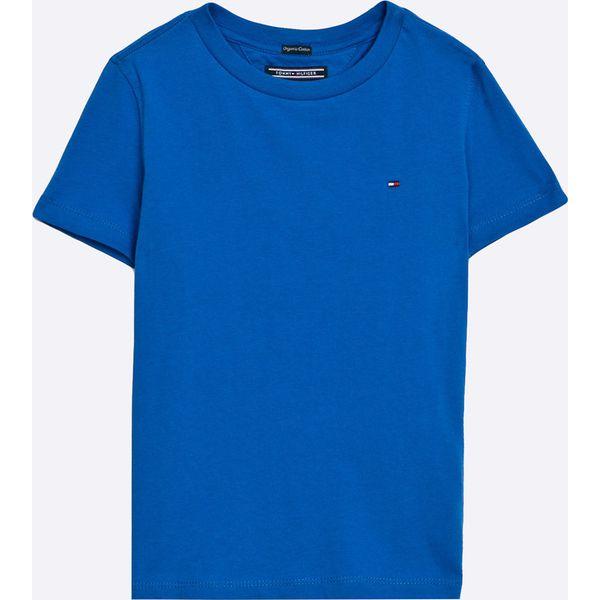 b6cf695fd95b6 Tommy Hilfiger - T-shirt dziecięcy 122-176 cm - Białe t-shirty i ...