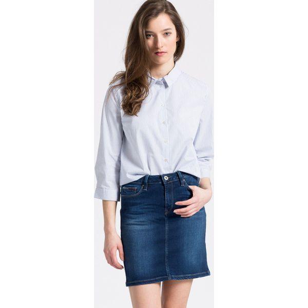 dff6e075583da6 Only - Koszula - Szare koszule damskie marki Only, w paski, z ...