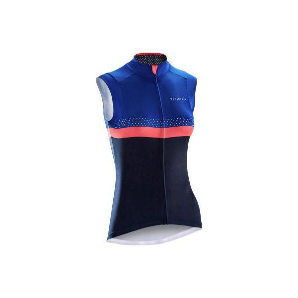 66d0775765 Koszulka bez rękawów na rower 900 damska - Koszulki damskie marki ...