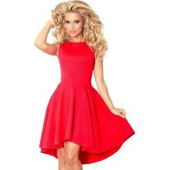 f94f8882918dfe Ekskluzywna Sukienka Z Dłuższym Tyłem Czerwona. Sukienki damskie NUMOCO. Za  169.00 zł.