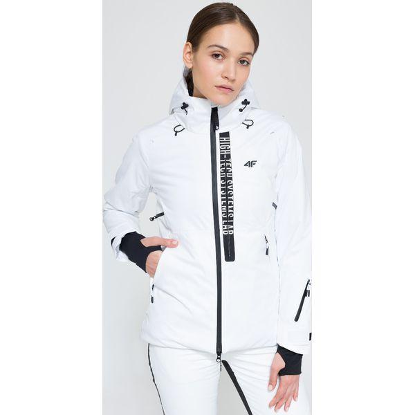 610dd8662cdb2 Kurtka narciarska damska KUDN161 - biały - Kurtki damskie marki 4F ...