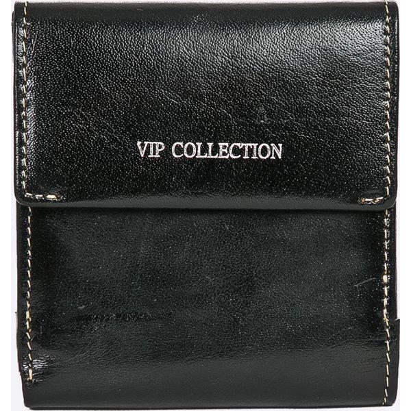 ec2d42816021e VIP COLLECTION - Portfel skórzany Palermo - Czarne portfele damskie ...