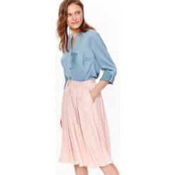 d8812e2a00 Bluzka koszulowa damska niebieska - Bluzki damskie - Kolekcja wiosna ...