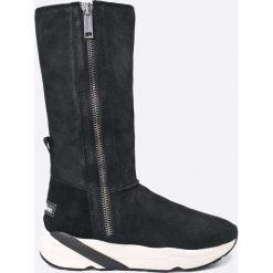 546dcbd2 Calvin Klein Jeans - Kozaki Penny. Czarne botki damskie Calvin Klein Jeans,  ...