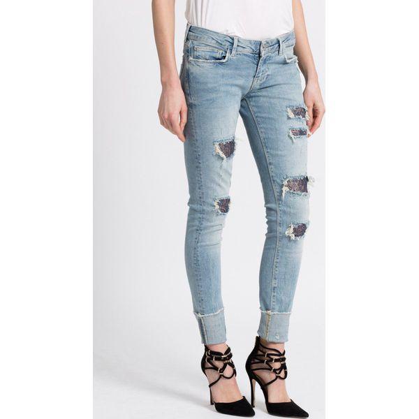 cbd7785d5c351 Guess Jeans - Jeansy - Niebieskie rurki damskie marki Guess Jeans