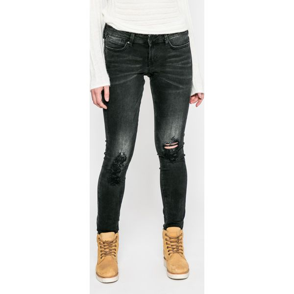 ce8b9310c13e3 Guess Jeans - Jeansy - Szare rurki damskie marki Guess Jeans