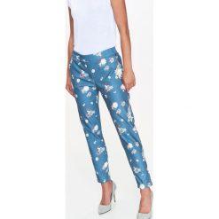 Spodnie w kwiaty Spodnie damskie Kolekcja wiosna 2020