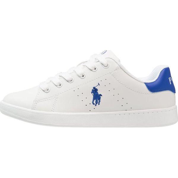 1ea3f93a8 Polo Ralph Lauren QUILTON Tenisówki i Trampki white/royal - Buty ...