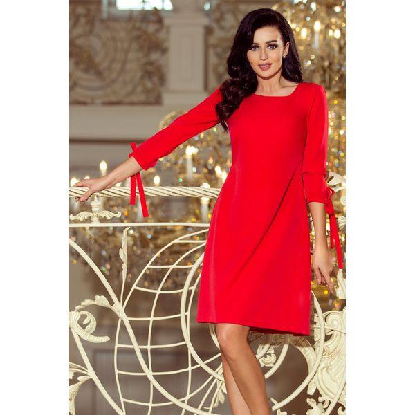 80679b6325 Alice Sukienka Z Kokardkami Czerwona - Sukienki damskie marki NUMOCO ...
