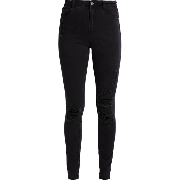 b099d7758e3b1a Missguided Tall SINNER HIGHWAISTED AUTHENTIC Jeans Skinny Fit black ...
