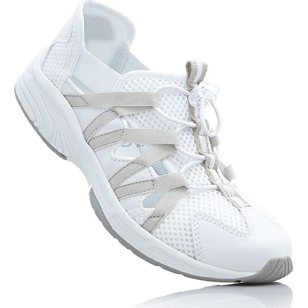 7102064652af5 Buty sportowe bonprix biały - Białe obuwie sportowe casual damskie ...